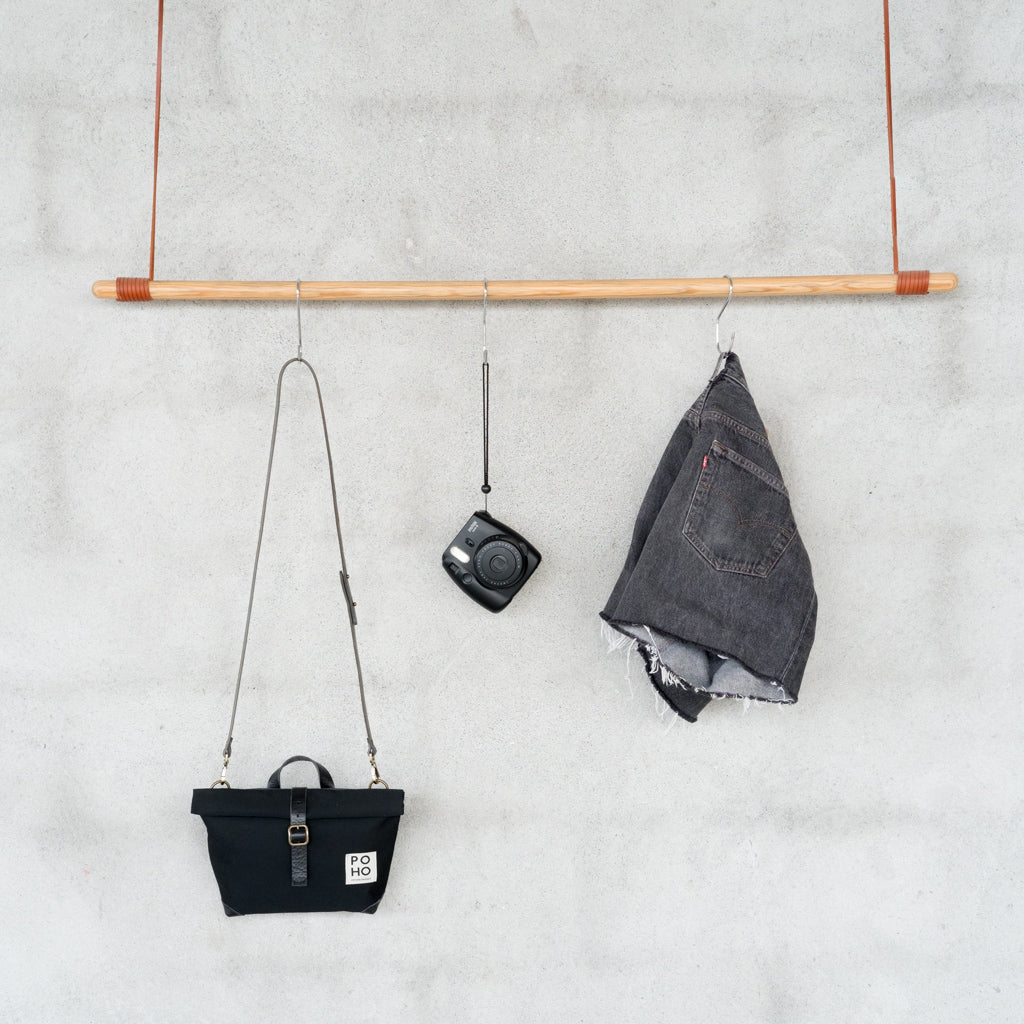 Poho Bag · All Black