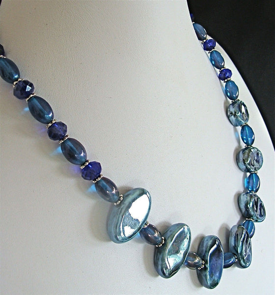 18.5 Porcelain Bead Necklace