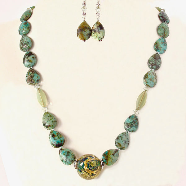 African Turquoise Jewelry