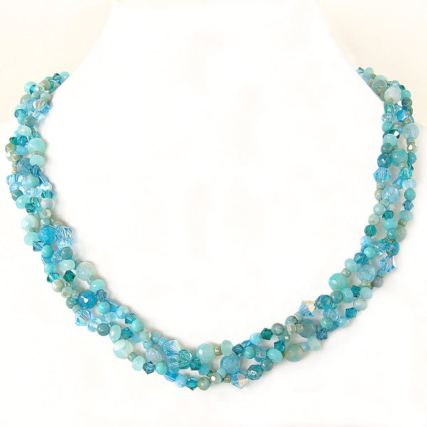 Aqua Statement Necklace