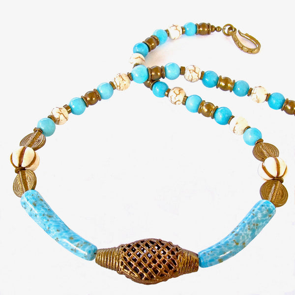 Blue Collar Necklace