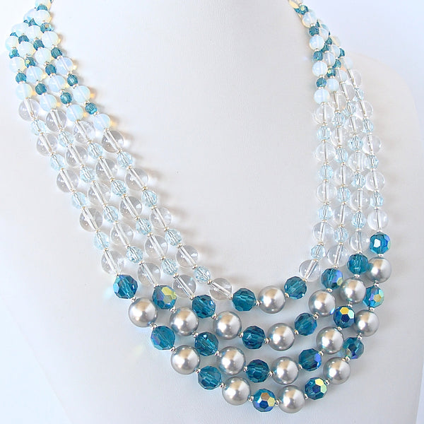 Blue Ombre Necklace
