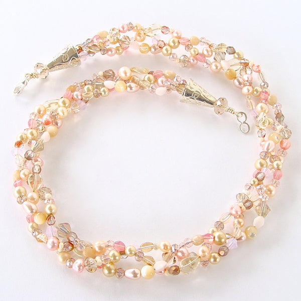 Blush Pearl Necklace