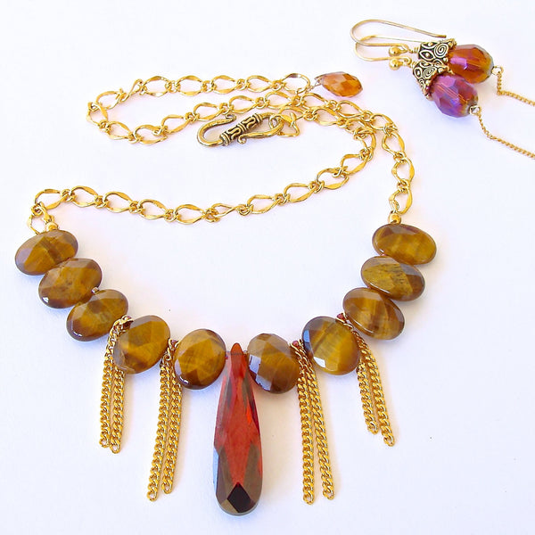Boho Chic Gemstone Jewelry