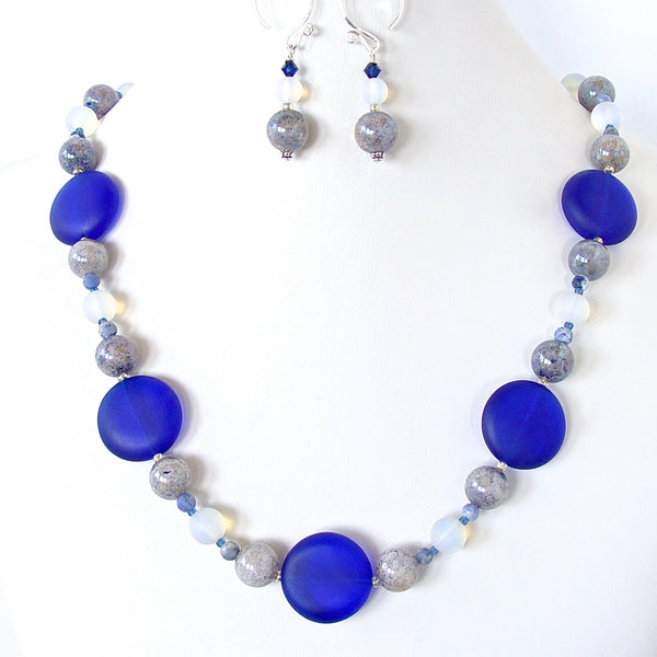 Cobalt blue Necklace