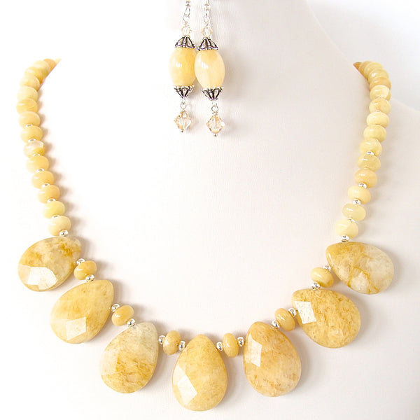 Cream Statement Necklace