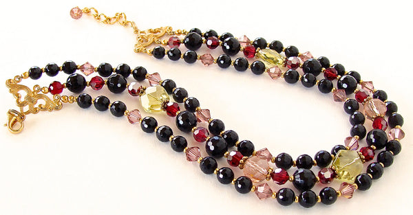Crystal Beaded Choker