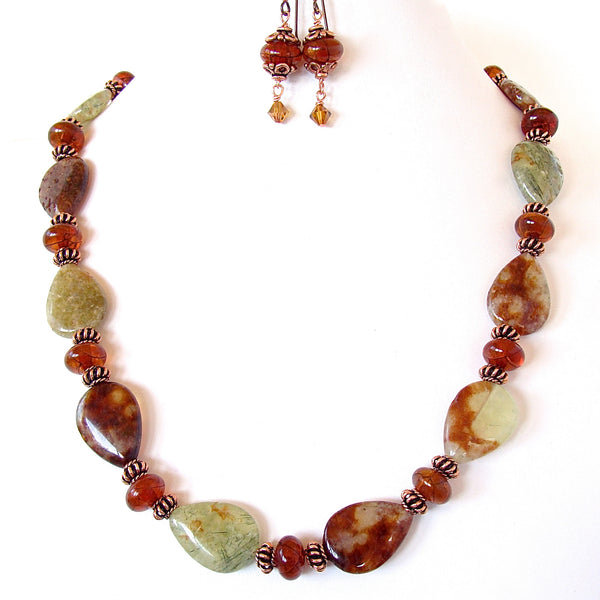 Earth tone jewelry