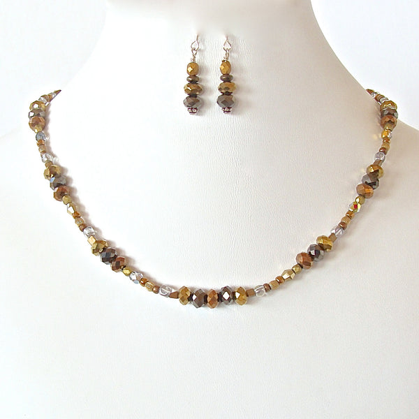 Tender: Mixed Metals Necklace Set