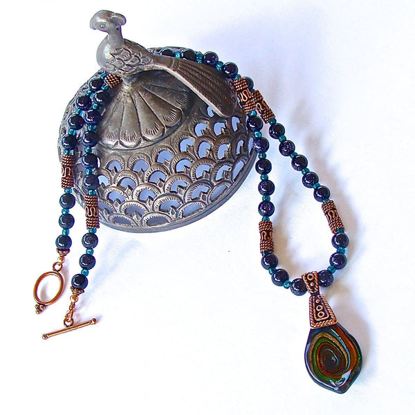 Handcrafted Evil Eye Gemst