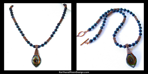 Handmade Boho Necklace TWT