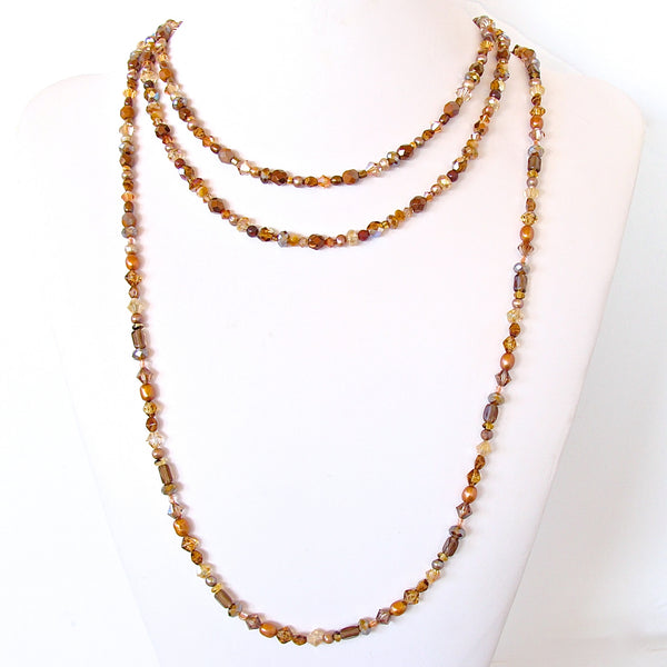 Handmade Long Layering Necklace