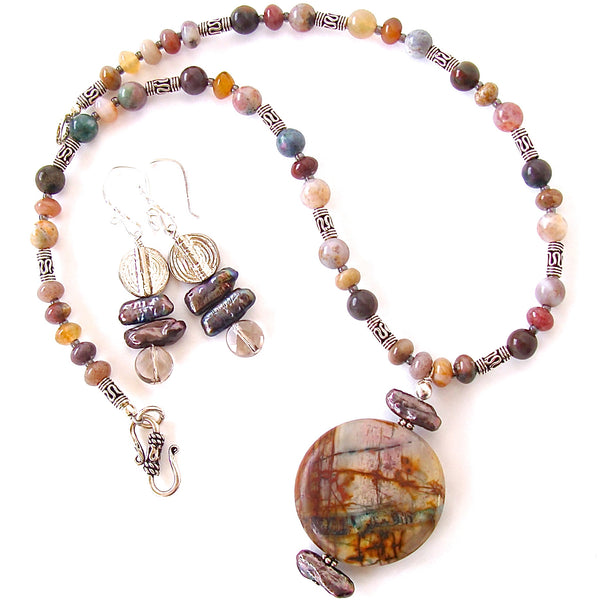 Jasper Gemstone Jewelry