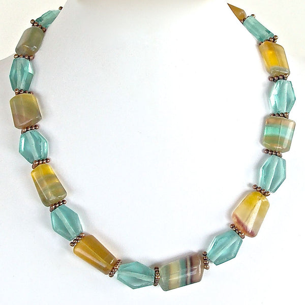 """Prism""- great summer necklace"