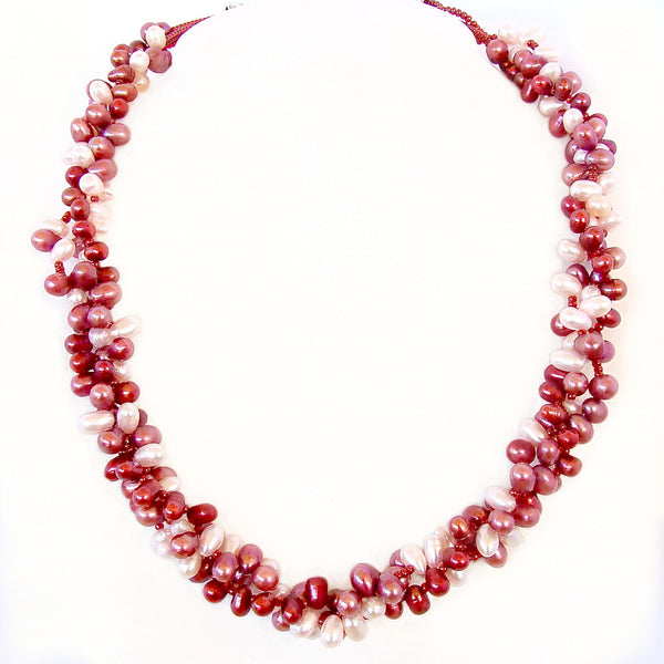 Pink Freshwater Pearl Necklace