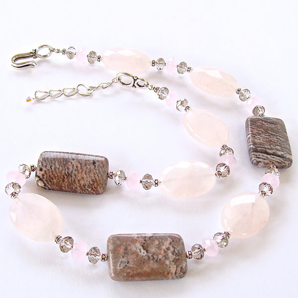 Pink Gemstone Necklace