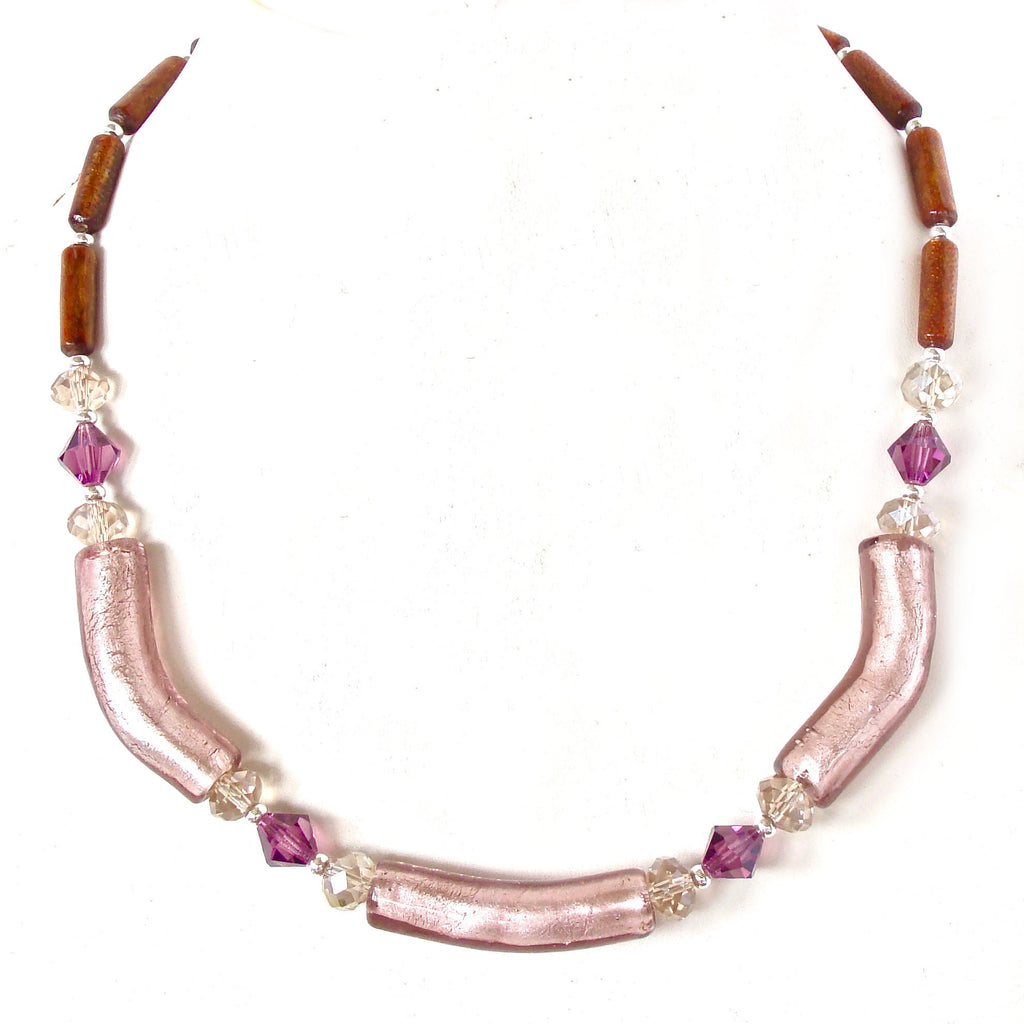 Purple Collar Necklace