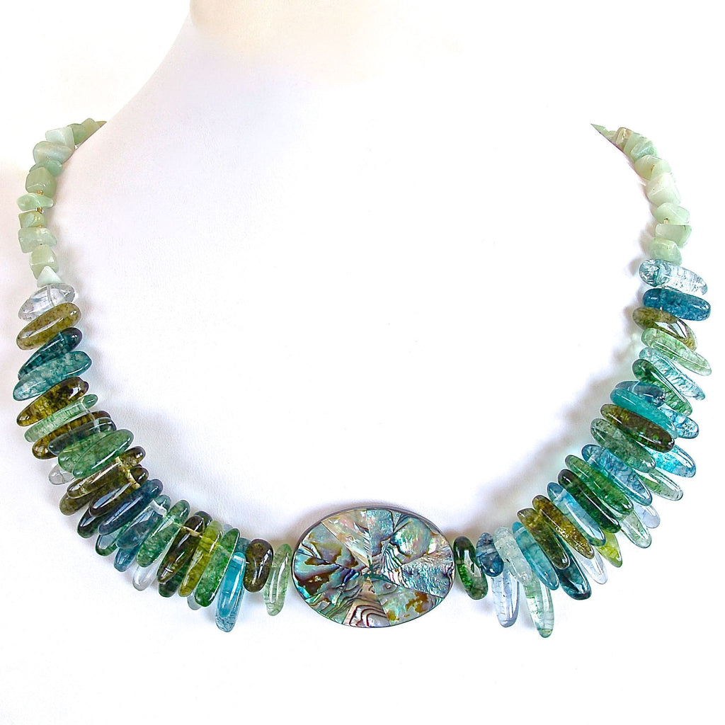 Aurora: Quartz Statement Necklace