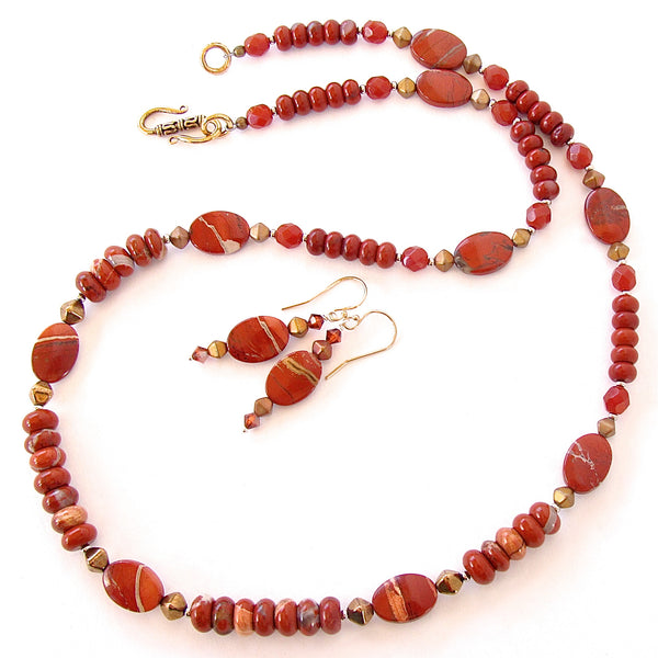 Red Stone Necklace