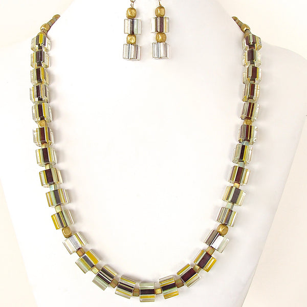 Striped Necklace