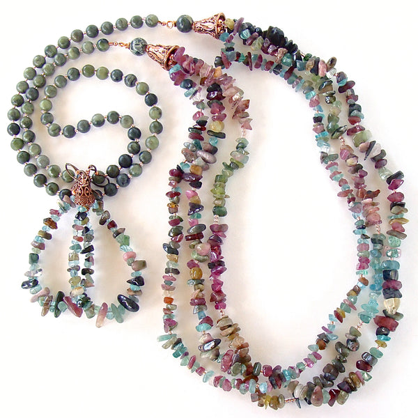 Tourmaline Necklace Set