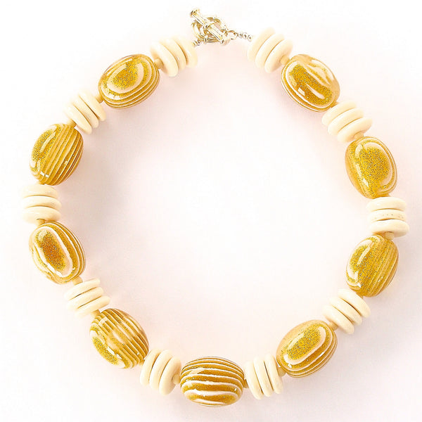 Verve: Chunky Yellow Necklace