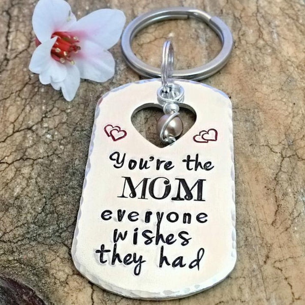 Best Mom Keychain, Mother's Day Keychain
