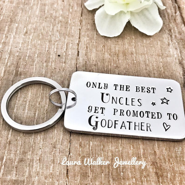 Godfather Uncle Keychain