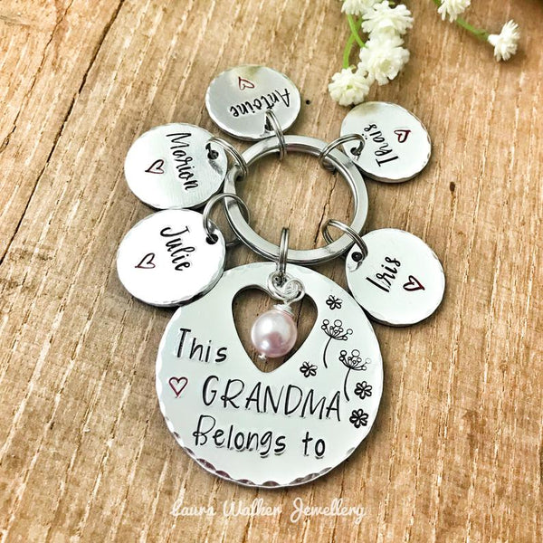 World's Best Grandma Keychain