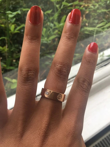 Screw-Cross-Love-Ring-Swarovski-Crystal-Cartier-Style-Designer-Inspired-Womens-Girls-Gift-Luxury-Birthday-Valentines-Christmas-Titanium-Rose-Gold