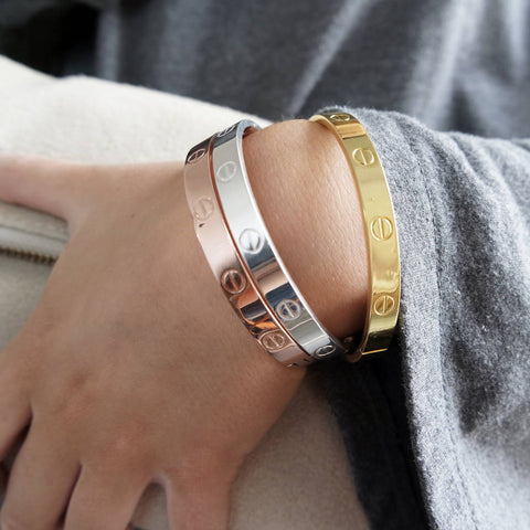designer-inspired-titanium-steel-screw-bracelet-bangle-cartier-inspired-style-replica-love-bracelets-jewelry-armband-cartier-silver-gold-rose