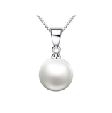 Pearl Ball Necklace Sterling Silver 925