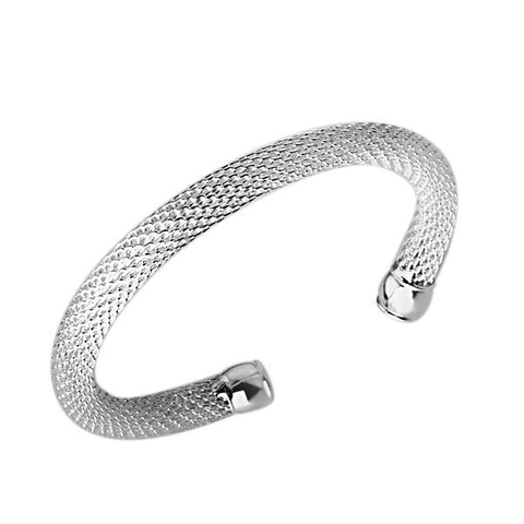 Designer Inspired Open Mesh Bangle Cuff Bracelet - Designer Inspired Co -