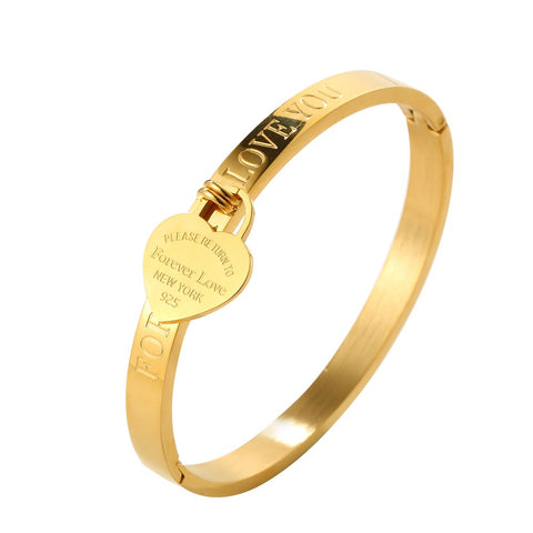 Forever-Love-Titanium-Steel-Heart-Tag-Return-To-New-York-Bracelet-Women-Girls-Gift-Tiffany-Style-Designer-Inspired-Gold