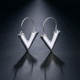 Designer-Inspired-V-LV-Hollow-Dangle-Hoop-Love-Earrings-LV-Louis-Vuitton-Essential-Jewellery-Style-Womens-Girls-Silver-Valentino