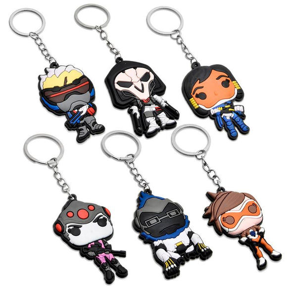 Geeky Keychains
