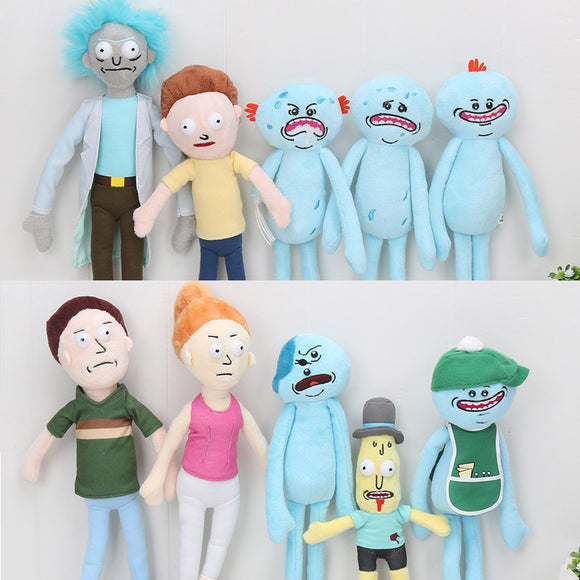 Rick and Morty Dolls