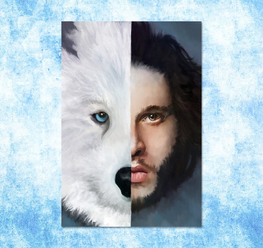 Jon and Ghost Poster