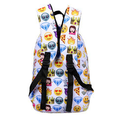 Emoji Backpack and Pouch