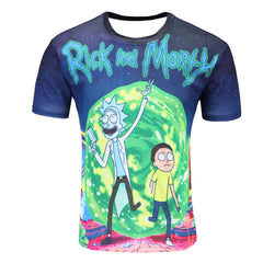 Rick and Morty 3D Sports T-Shirt