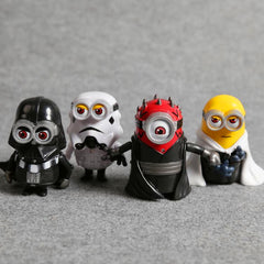 Set of 4 Star Wars Minions