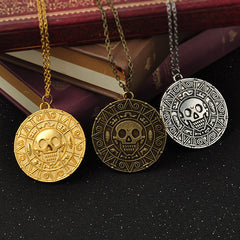 Pirates of the Caribbean Aztec Gold Necklace
