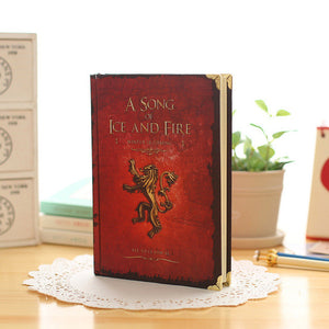 Hardcover Game of Thrones Notebook