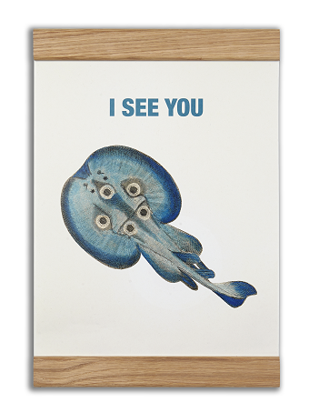 2 in 1 plakat - I see you - Shop Sund