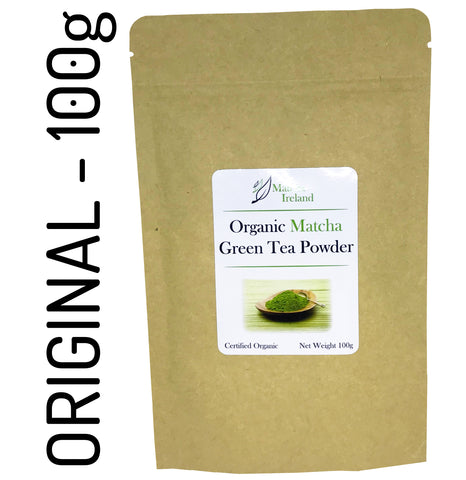100g - Organic Ceremonial Grade Matcha Green Tea Powder