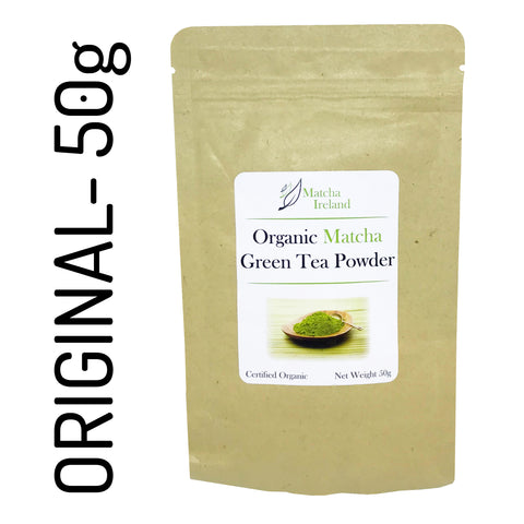 50g - Organic Ceremonial Grade Matcha Green Tea Powder