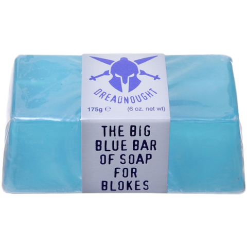 Dreadnought Big Blue Bar Of Soap For Blokes (175g)
