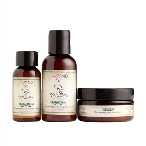 razor md herbal blend travel trio