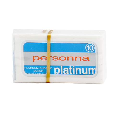 Personna Platinum Double Edge Safety Razor Blades