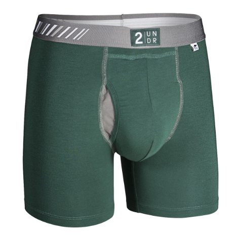 2UNDR Swing Shift Dark Green